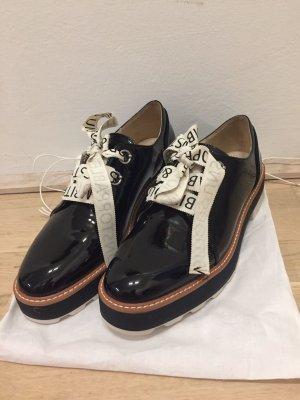 Zara Low Shoes black-white