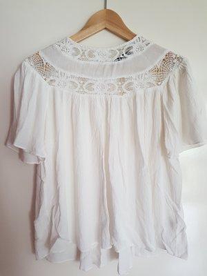 Neue Zara bluse in weiß