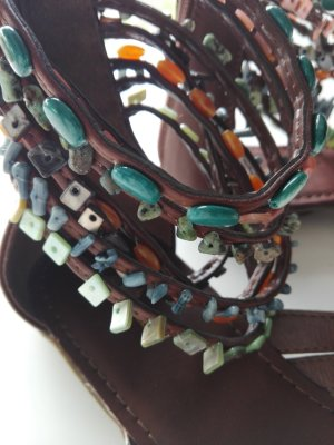 Graceland Sandalias romanas multicolor Material sintético