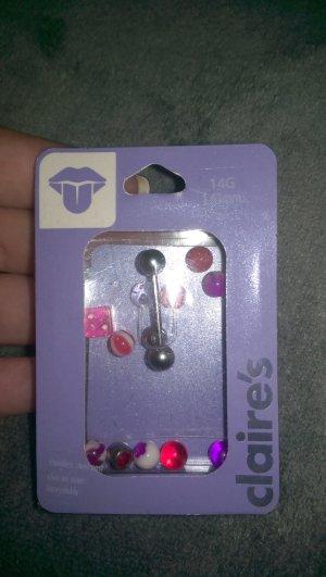 Neue Zungenpiercings