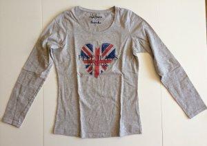Neuen Hellgrauen Sweatshirt von Pepe Jeans in der Größe S.
