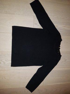 Neuer 1 2 3 un deux trois Pullover Strickpullover Sommer schwarz Größe 36 S