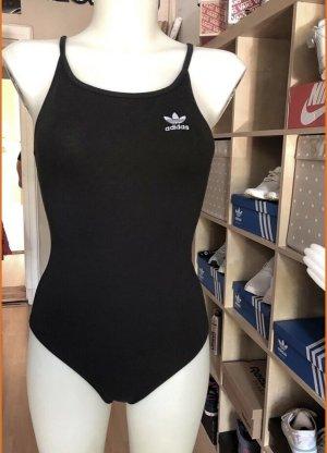 Neuer Adidas Body schwarz weiß XS/S