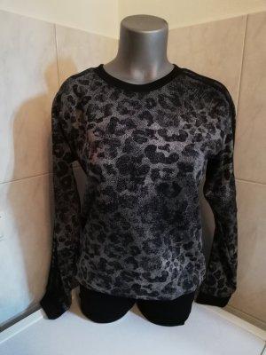 Adidas Jersey de cuello redondo negro-gris