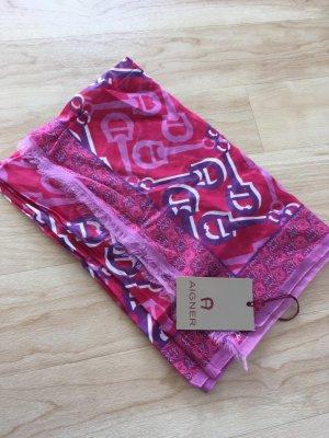 Neuer Aiger Schal rosa