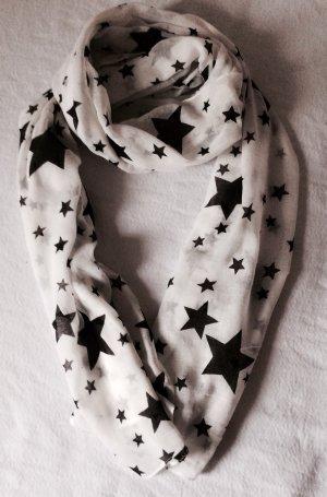 Neuer Baumwoll-Schal mit tollem Sternen-Look