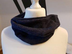 Bufanda tubo azul