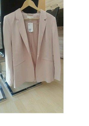 Neuer Blazer, hellrosa von H&M, Größe 44