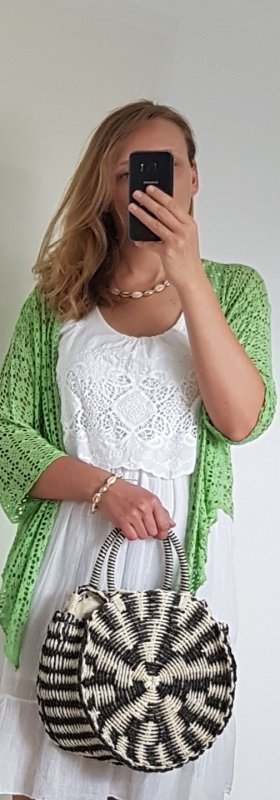 Bolero verde chiaro-verde