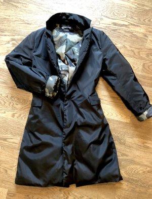 Neuer Brasi&Brasi Daunenmantel, S, schwarz, Camouflage