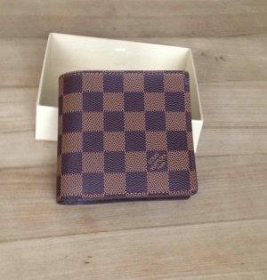 Neuer brauner Ledergeldbeutel von Louis Vuitton