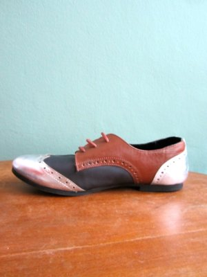 Görtz17 Wingtip Shoes multicolored leather