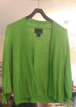 Cynthia Rowley Knitted Cardigan green