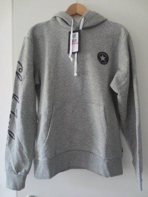 Converse Sweatshirt met capuchon zilver