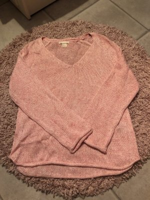 H&M Fine Knitted Cardigan pink-pink