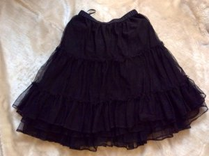 Neuer Dirndl-Petticoat-Unterrock in schwarz in 36/38/ M