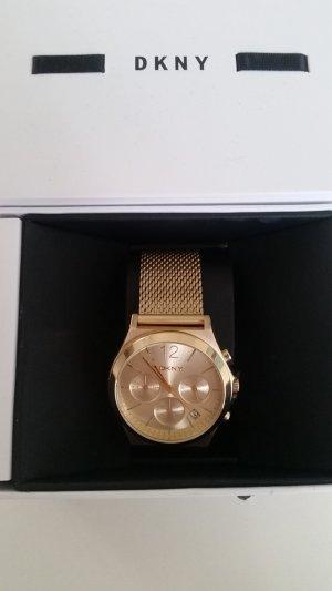Neuer DKNY Chronograph gold