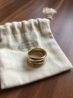 Neuer Fossil Ring gold