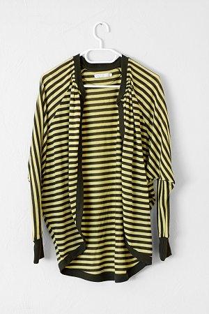 Only Veste chemise jaune primevère-vert forêt
