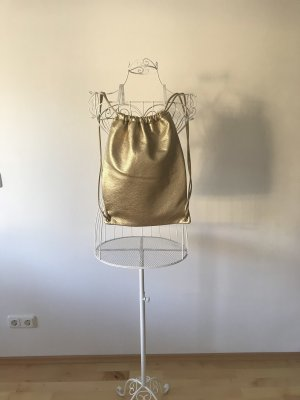 Only Backpack gold-colored