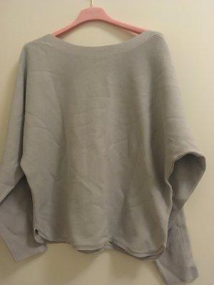 Neuer hellgrauer Pullover von Yaya Woman, Größe Medium, aus Baumwolle. Neu, nie getragen!