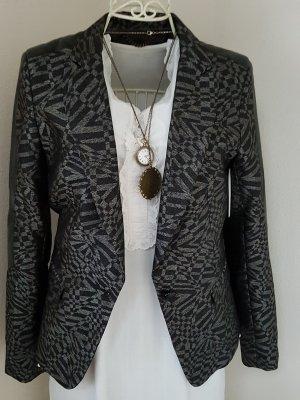 NEUER hochwertiger Blazer von Rich & Royal mit Kunstleder-Einsatz
