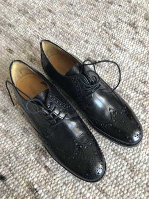 Melvin & hamilton Oxfords black leather