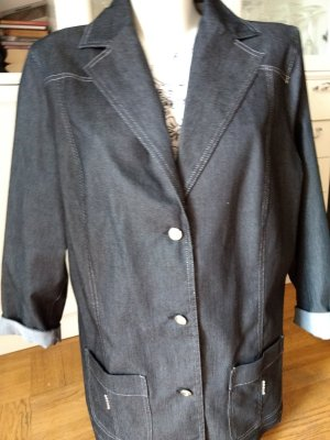 Denim Blazer dark blue-dark grey