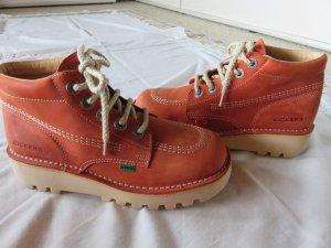 Kickers Low boot orange foncé