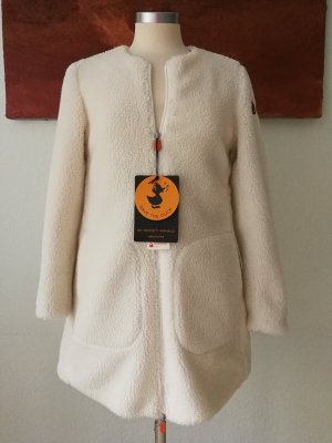 SAVE THE DUCK Short Coat natural white