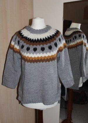 NEUER kuscheliger Winter-Pullover mit Alpaka-Wolle