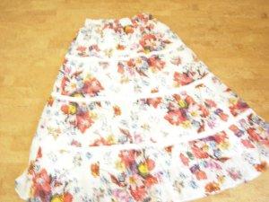 Alba Moda Maxi Skirt multicolored cotton