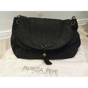 Neuer Leder-Shopper in Anthrazit von Patrizia Pepe