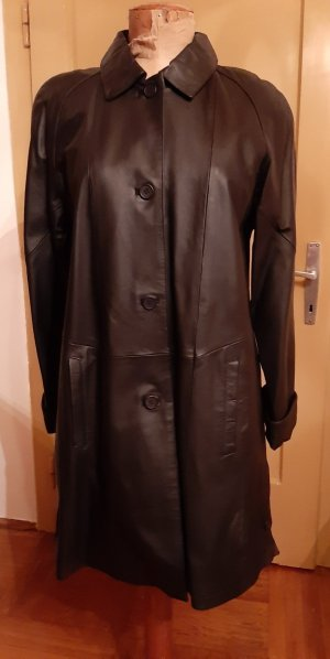 Collection Chalice Leather Coat black leather