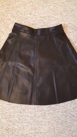 H&M Circle Skirt black-gold-colored