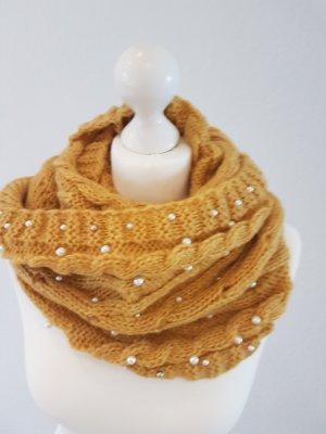 Sjaal zandig bruin