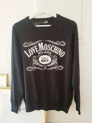 Neuer Love Moschino Pullover Trend Blogger Musthave