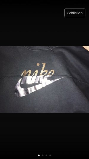 Nike Capuchon sweater zwart