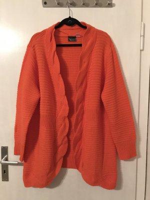 Neuer oranger Cardigan von B.P.C.