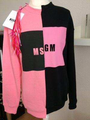 Neuer Original MSGM Milano Sweater S 36 XS Pink rosa Sweatshirt