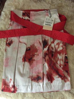 Pennyblack Falda blanco-rojo ladrillo