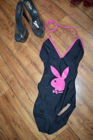 Playboy Zwempak zwart-roze