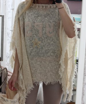 Gypsy Poncho multicolored cotton