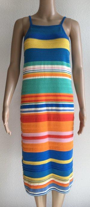 *NEUER PREIS -50%*Ralph Lauren, Kleid, bunt, gestreift, Baumwolle, L, Neu mit Etikett, 250,-