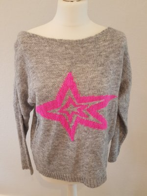 Sweater lichtgrijs-grijs