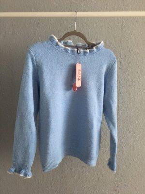Neuer Pullover von Chichilondon mit Etikett in blau