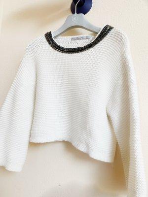 Zara Jersey de punto grueso multicolor
