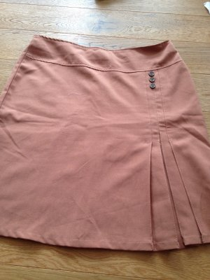 Asymmetry Skirt apricot-nude