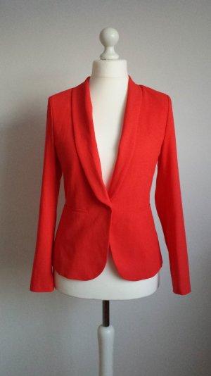 Neuer roter Blazer für Damen, Größe 38