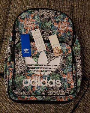 Adidas Zaino per la scuola nero-turchese